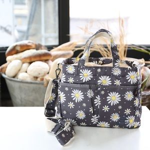 New Floral Insulated Lunch Bag